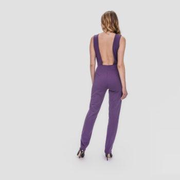Kombinezon, dresowy FIT z odkrytymi plecami różne kolory