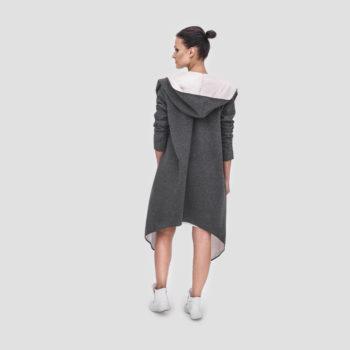 Bluza asymetryczna z kapturem MIŚ