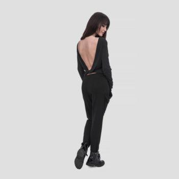 Spodnie dresowe SILKY FIT z odstającymi kieszeniami