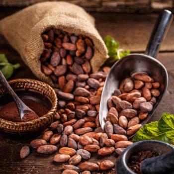 Świeca sojowa do masażu z masłem kakao