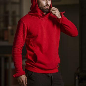 Bluza Classic czerwona