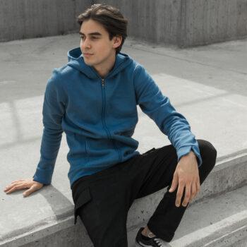 Bluza Classic Zip z kapturem różne kolory