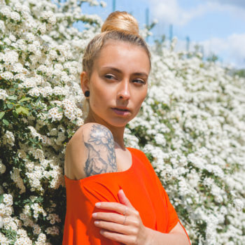 MOTYLEK orange