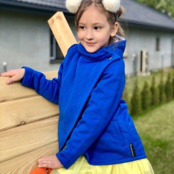 Bluza dziecięca rozpinana ROBINEK  z kapturem różne kolory