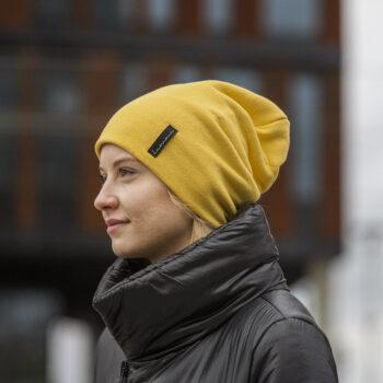Bawełniana czapka ciepła, unisex, różne kolory