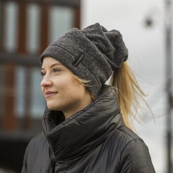 Bawełniana czapka z dziurą na koka, kitkę lub dredy różne kolory