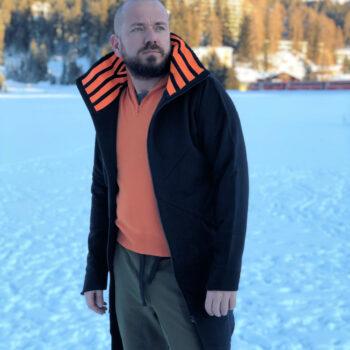 Bluza CYBER PUNK bawełniana z podszewką, bez kaptura, unisex